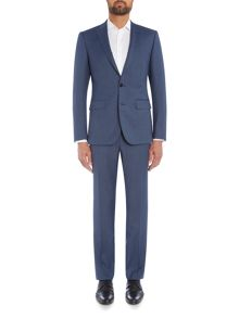 Simon Carter SB2 FF Sharkskin Slim Fit Suit