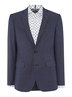 SB2 FF Pindot Slim Fit Suit
