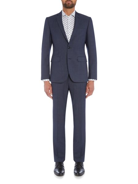 Simon Carter SB2 FF Pindot Slim Fit Suit