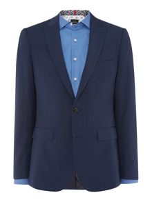 Simon Carter SB2 FF POW Check Slim Fit Suit