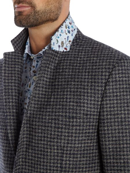Simon Carter Dogstooth Wool Jacket