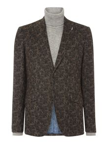 Simon Carter Floral Print Jacket