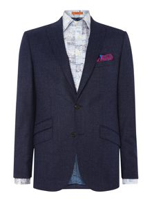 Simon Carter Flannel Pindot Fixed Suit