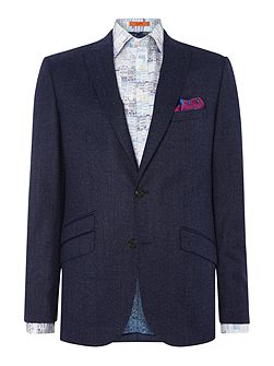 Flannel Pindot Fixed Suit