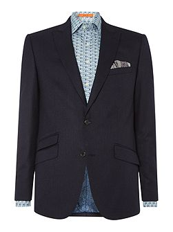 Stripe Wool Fixed Suit