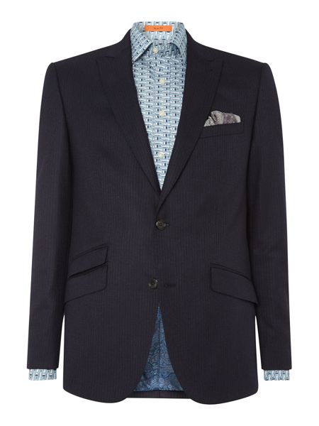 Simon Carter Stripe Wool Fixed Suit