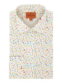 Simon Carter Watercolour Spot Jagger Shirt