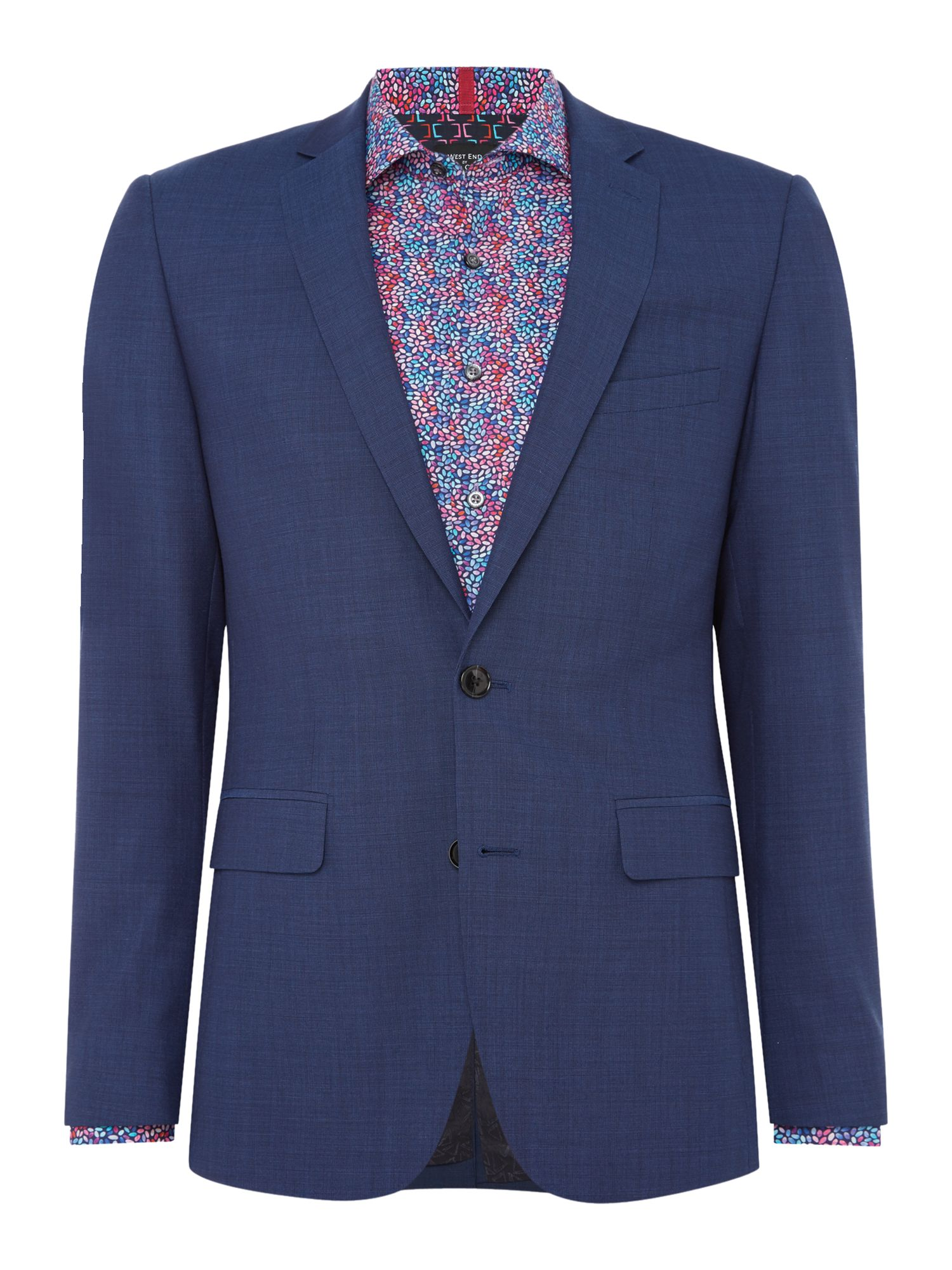 Men's Simon Carter End On End Suit, Blue