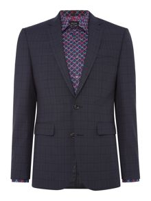 Simon Carter Highlight Check Suit