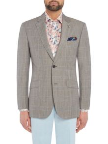 Simon Carter Highlight POW Check Grant Jacket
