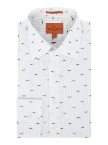 Simon Carter Chilli Jacquard Jagger Shirt