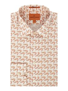 Simon Carter Shrimp Print Jagger Shirt