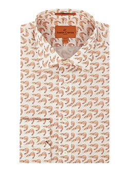 Shrimp Print Jagger Shirt