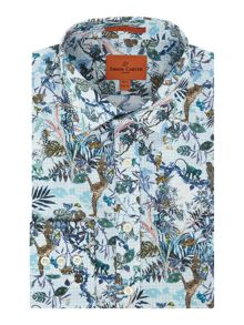 Simon Carter Jungle Print Moore Shirt