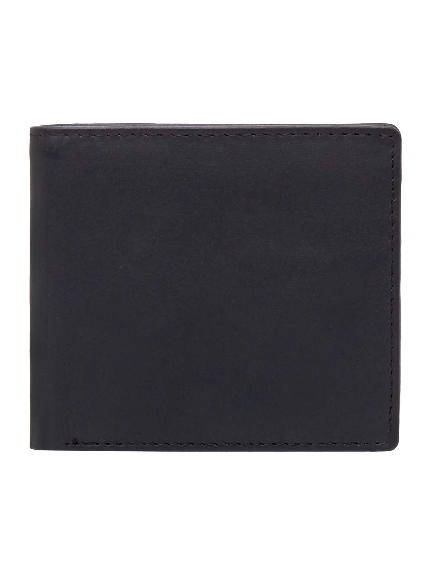 Chester Barrie Leather Notecase Wallet, Black