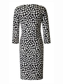 Grace Made In Britain Polka Print Dress