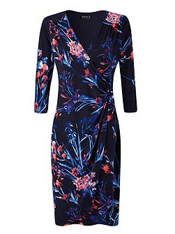 Made In Britain Floral Print Dress