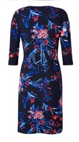 Grace Made In Britain Floral Print Dress