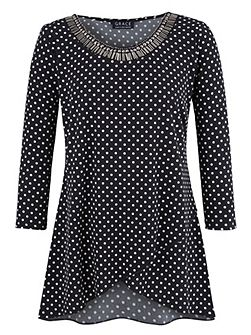Made In Britain Tulip Hem Tunic