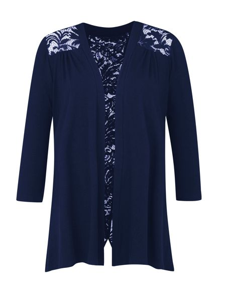 Grace Grace Made in Britain lace shrug
