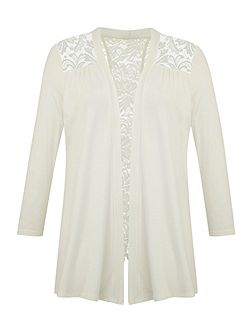 Grace Made in Britain lace shrug