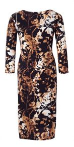 Grace Grace Made in Britain print dress