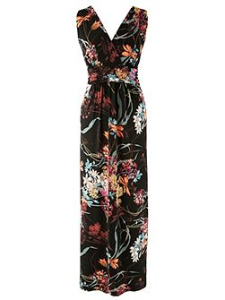 Made in Britain Floral Maxi