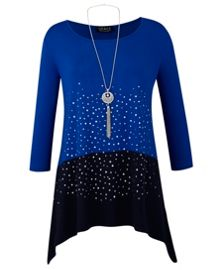 Grace Grace Made in Britain tunic and necklace