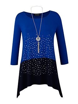 Grace Made in Britain tunic and necklace