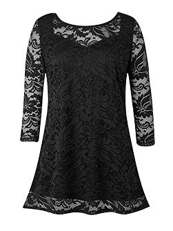 Made In Britain Lace Tunic