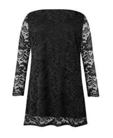 Grace Made In Britain Lace Tunic