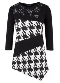 Grace Grace Made in Britain houndtooth tunic