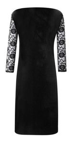 Grace Grace Made in Britain velour dress