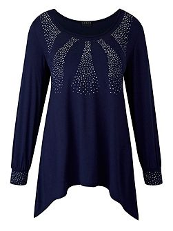 Made in Britain studded tunic