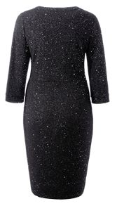 Grace Made in Britain glitter dress