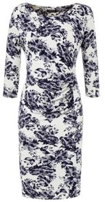 Grace Grace Made in Britain floral shift dress