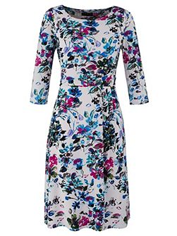 Made in Britain Floral Midi Dress