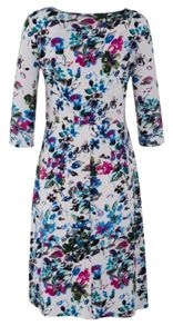 Grace Made in Britain Floral Midi Dress