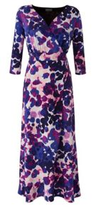Grace Grace Made in Britain floral maxi dress