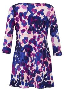 Grace Grace Made in Britain mock wrap tunic