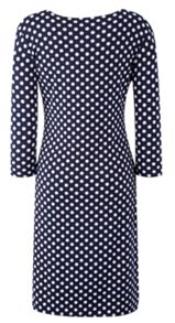 Grace Grace Made in Britain spot dress
