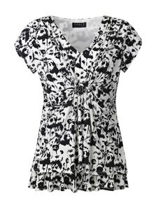 Grace Grace Made in Britain print tunic top