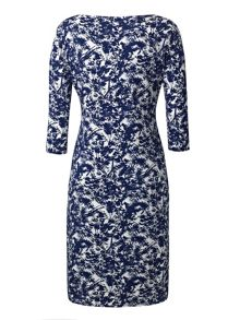 Grace Made in Britain Print Dress