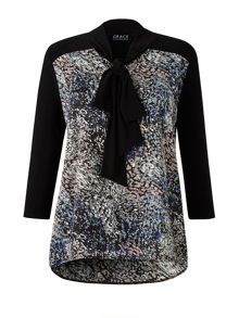 Grace Grace Made in Britain print tunic