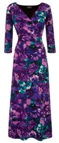 Grace Grace Made in Britain print maxi dress