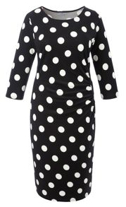 Grace Made in Britain Spot Dress