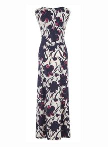 Grace Grace Made in Britain floral maxi