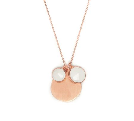 Lola Rose Nerio Short Necklace White Sea Shell