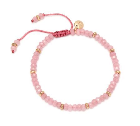 Lola Rose Northwood Bracelet Pink Quartzite