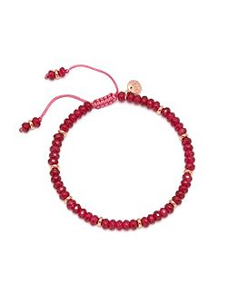 Northwood Bracelet Cherry Red Quartz